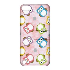Owl Bird Cute Pattern Apple Ipod Touch 5 Hardshell Case With Stand
