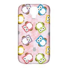 Owl Bird Cute Pattern Samsung Galaxy S4 Classic Hardshell Case (pc+silicone)