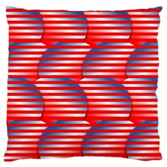 Patriotic  Standard Flano Cushion Case (one Side)