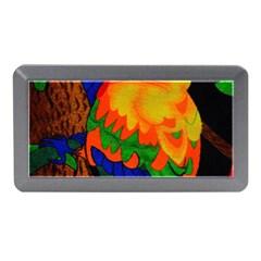 Parakeet Colorful Bird Animal Memory Card Reader (mini)