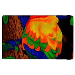 Parakeet Colorful Bird Animal Apple Ipad 3/4 Flip Case