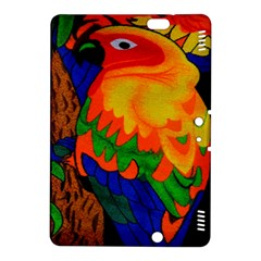 Parakeet Colorful Bird Animal Kindle Fire Hdx 8 9  Hardshell Case