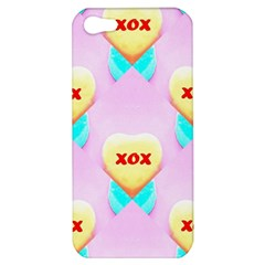 Pastel Heart Apple Iphone 5 Hardshell Case
