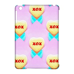 Pastel Heart Apple Ipad Mini Hardshell Case (compatible With Smart Cover) by Nexatart