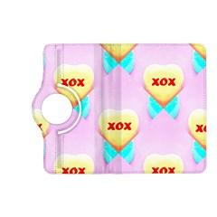 Pastel Heart Kindle Fire Hd (2013) Flip 360 Case