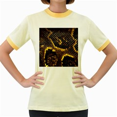 Pattern Skins Snakes Women s Fitted Ringer T Shirts
