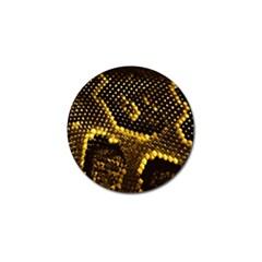Pattern Skins Snakes Golf Ball Marker (10 Pack)