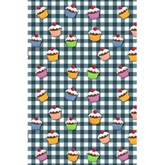 Cupcakes Plaid Pattern 5 5  X 8 5  Notebooks