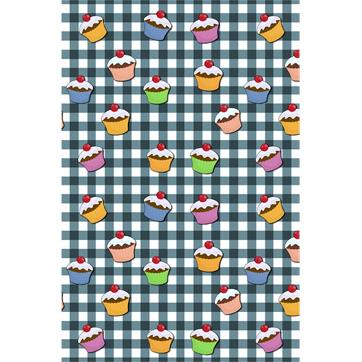 Cupcakes plaid pattern 5.5  x 8.5  Notebooks