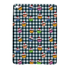 Cupcakes Plaid Pattern Ipad Air 2 Hardshell Cases by Valentinaart
