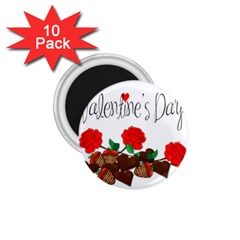 Valentine s Day Gift 1 75  Magnets (10 Pack)  by Valentinaart