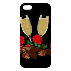 Valentine s Day Design Apple Iphone 5 Premium Hardshell Case by Valentinaart