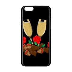 Valentine s Day Design Apple Iphone 6/6s Black Enamel Case by Valentinaart