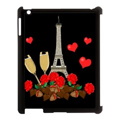 Pariz Apple Ipad 3/4 Case (black) by Valentinaart