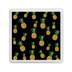 Pineapples Memory Card Reader (square)  by Valentinaart
