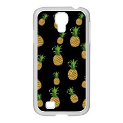 Pineapples Samsung Galaxy S4 I9500/ I9505 Case (white) by Valentinaart