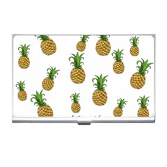Pineapples Pattern Business Card Holders by Valentinaart