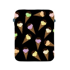 Ice Cream Cute Pattern Apple Ipad 2/3/4 Protective Soft Cases by Valentinaart