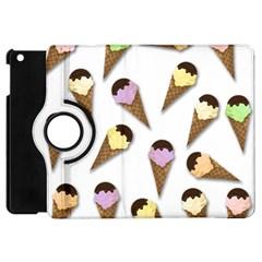 Ice Cream Pattern Apple Ipad Mini Flip 360 Case