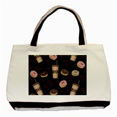Coffee Break Basic Tote Bag by Valentinaart
