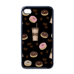 Coffee Break Apple Iphone 4 Case (black) by Valentinaart