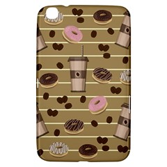 Coffee And Donuts  Samsung Galaxy Tab 3 (8 ) T3100 Hardshell Case  by Valentinaart