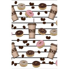 Donuts And Coffee Pattern 5 5  X 8 5  Notebooks by Valentinaart