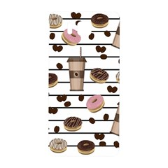 Donuts And Coffee Pattern Samsung Galaxy Alpha Hardshell Back Case by Valentinaart