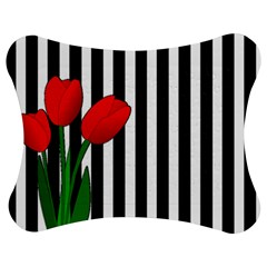 Tulips Jigsaw Puzzle Photo Stand (bow) by Valentinaart