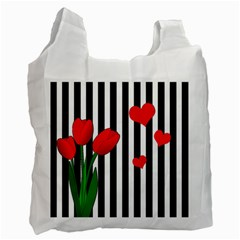 Tulips Recycle Bag (two Side)  by Valentinaart