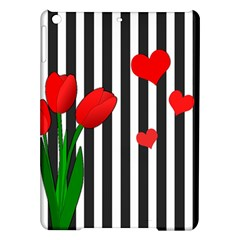 Tulips Ipad Air Hardshell Cases by Valentinaart