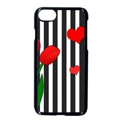 Tulips Apple Iphone 7 Seamless Case (black) by Valentinaart