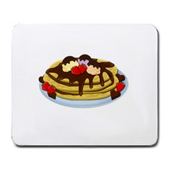 Pancakes   Shrove Tuesday Large Mousepads by Valentinaart