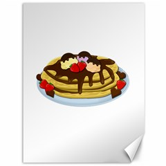 Pancakes   Shrove Tuesday Canvas 36  X 48   by Valentinaart