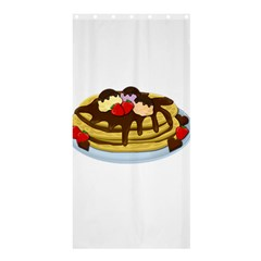 Pancakes   Shrove Tuesday Shower Curtain 36  X 72  (stall)  by Valentinaart