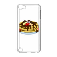 Pancakes   Shrove Tuesday Apple Ipod Touch 5 Case (white) by Valentinaart