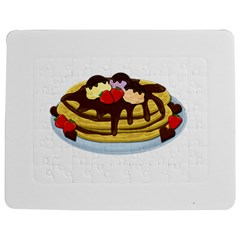 Pancakes   Shrove Tuesday Jigsaw Puzzle Photo Stand (rectangular) by Valentinaart