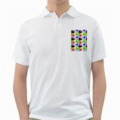 Pattern Background Wallpaper Design Golf Shirts