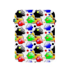Pattern Background Wallpaper Design Apple Ipad 2/3/4 Protective Soft Cases