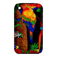 Parrots Aras Lori Parakeet Birds Iphone 3s/3gs