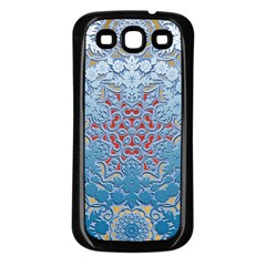 Pattern Background Pattern Tile Samsung Galaxy S3 Back Case (black)