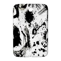 Pattern Color Painting Dab Black Samsung Galaxy Note 8 0 N5100 Hardshell Case
