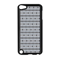Pattern Grid Squares Texture Apple Ipod Touch 5 Case (black)