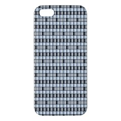 Pattern Grid Squares Texture Apple Iphone 5 Premium Hardshell Case