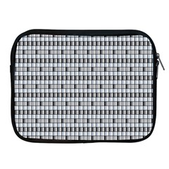 Pattern Grid Squares Texture Apple Ipad 2/3/4 Zipper Cases