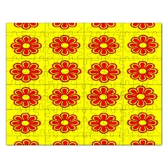 Pattern Design Graphics Colorful Rectangular Jigsaw Puzzl