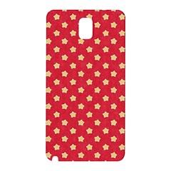 Pattern Felt Background Paper Red Samsung Galaxy Note 3 N9005 Hardshell Back Case