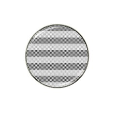 Pattern Half Tone Hat Clip Ball Marker (4 Pack)