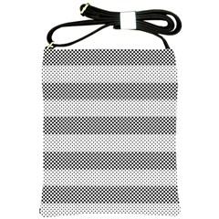 Pattern Half Tone Shoulder Sling Bags by Nexatart