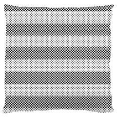 Pattern Half Tone Large Cushion Case (two Sides)